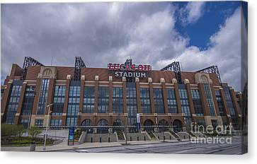 Lucas Oil Stadium Indianapolis Colts Clouds Canvas Print