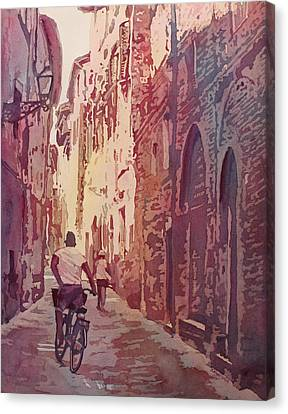 Lucca Canvas Print by Jenny Armitage