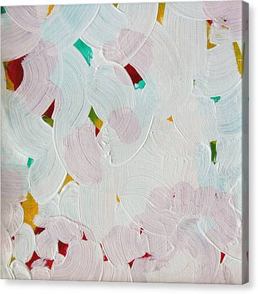 Canvas Print featuring the painting Lucent Entanglement C2013 by Paul Ashby