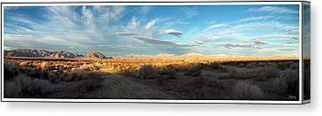 Lucerne Desert Vista Canvas Print
