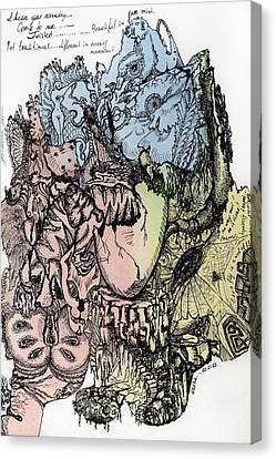 Lucid Mind - 3 Canvas Print