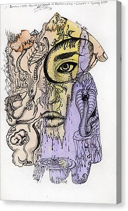 Lucid Mind - 5 Canvas Print
