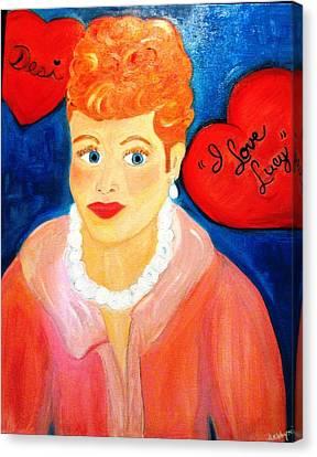 Lucile Ball Canvas Print