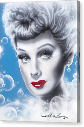 Lucille Ball Canvas Print by Alicia Hayes