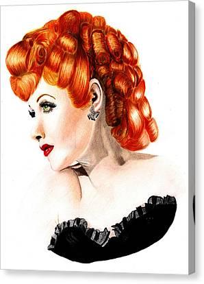 Lucille Ball Canvas Print