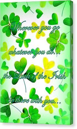 Luck Of The Irish Canvas Print