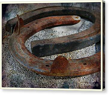 Luck Within Canvas Print by Michelle Frizzell-Thompson