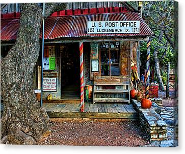 Luckenbach Texas Canvas Print