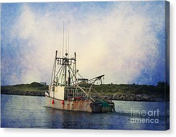 Lucky Catch Canvas Print by A New Focus Photography