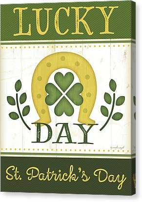 St Canvas Print - Lucky Day by Jennifer Pugh