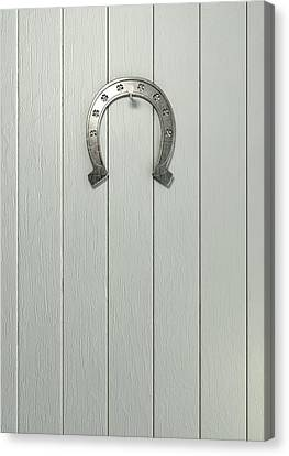 Lucky Horseshoe Entrance Canvas Print by Allan Swart