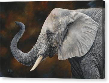 Lucky Canvas Print by Lucie Bilodeau