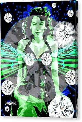Lucy In The Sky With Diamonds Canvas Print by Seth Weaver