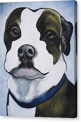 Lugnut Portrait Canvas Print by Leslie Manley