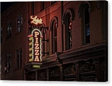Luigi's Pizza Canvas Print by Rick Berk