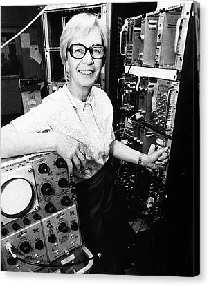Luise Meyer-schutzmeister Canvas Print by Emilio Segre Visual Archives/american Institute Of Physics
