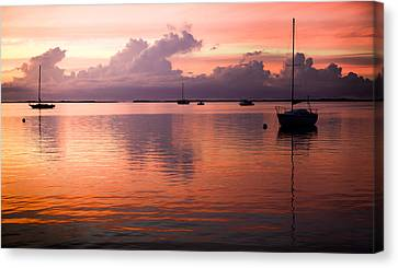 Lullabye Of Calming Winds Canvas Print by Karen Wiles