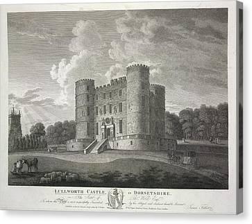 Lullworth Castle Canvas Print