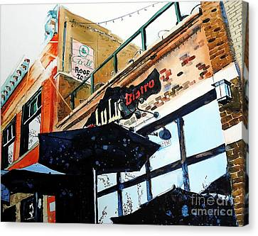 Lulu Asian Bistro Canvas Print by Tom Riggs