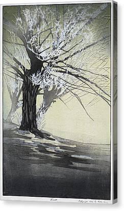 Lum Frost, C1920 Canvas Print by Granger
