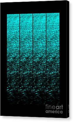Canvas Print featuring the photograph Luminescence 1a by Darla Wood
