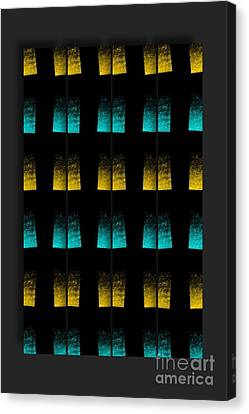 Canvas Print featuring the digital art Luminescence 7a by Darla Wood