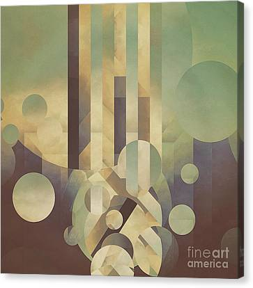 Luminous Perception Canvas Print