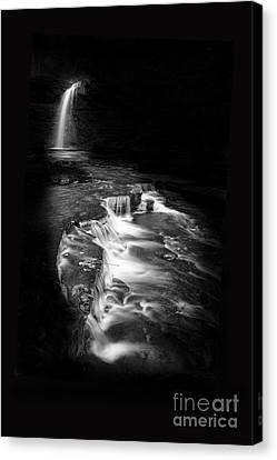 Luminous Waters Vi Canvas Print by Michele Steffey