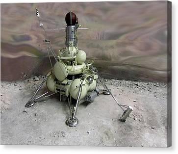 Luna 16 Lunar Space Probe Canvas Print by Detlev Van Ravenswaay