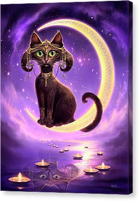 Luna Canvas Print by Jeff Haynie