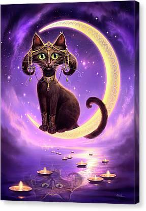 Luna Canvas Print by Jeff Haynie