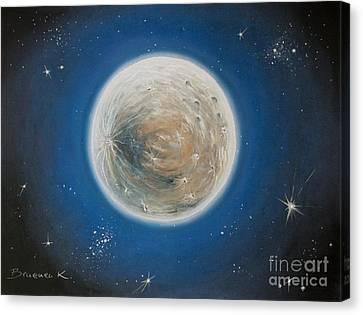 Luna Canvas Print by Katharina Filus