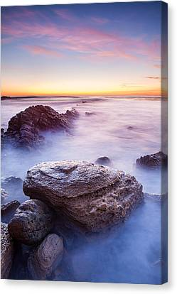 Lunada Mist Canvas Print by Adam Pender