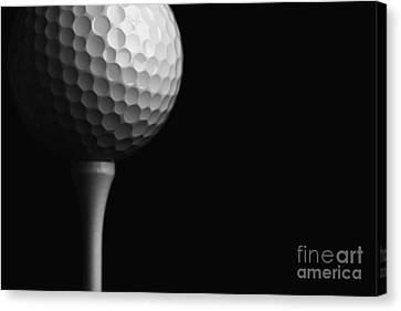 Lunar Golf Canvas Print