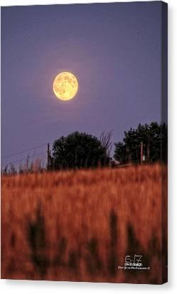 Lunar Light Lifting Canvas Print by Dan Quam