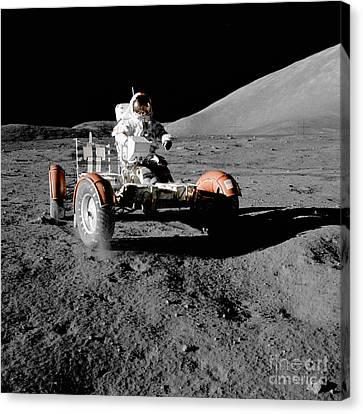 Lunar Ride Canvas Print by Jon Neidert