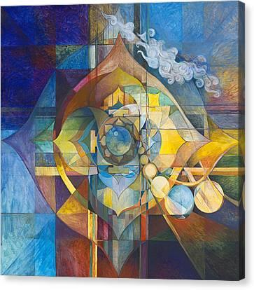 Lunar Sanctum Canvas Print