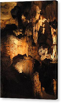 Cave Canvas Print - Luray Caverns - 121211 by DC Photographer