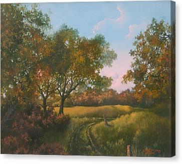 Luray Pasture Canvas Print