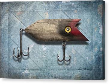 Fish Pond Canvas Print - Lure II by April Moen