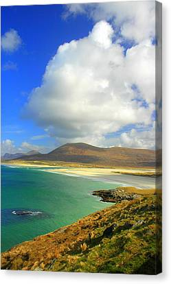 Luskentyre Beach  Canvas Print by The Creative Minds Art and Photography