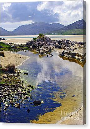 Canvas Print featuring the photograph Luskentyre Dream by Jacqi Elmslie