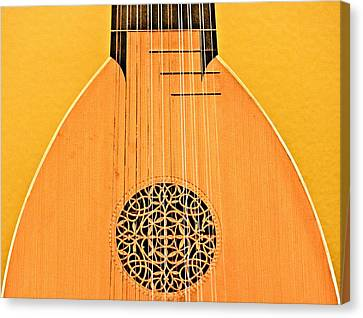 Lute Canvas Print by John Illingworth