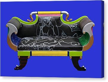 Luv Seat Canvas Print