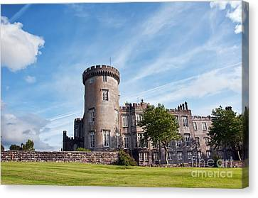 Luxury Dromoland Castle County Clare Ireland Canvas Print by Noel Moore