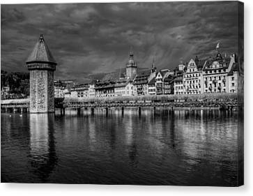 Lucerne Reflected Canvas Print by Carol Japp