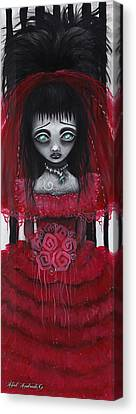Lydia Canvas Print by  Abril Andrade Griffith