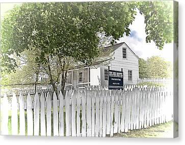 Lydia Leister Farm - Civil War Hospital Canvas Print by Dyle   Warren