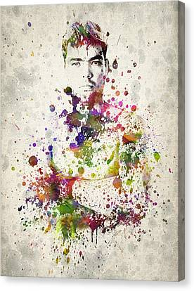 Lyoto Machida Canvas Print by Aged Pixel