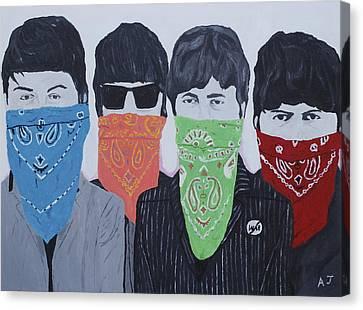Lyrical Gangsters Canvas Print by Austin James